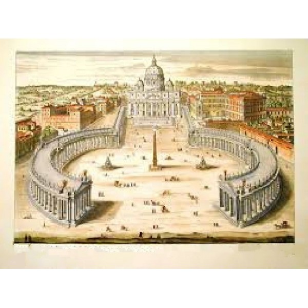 St. Peter's Square Mould