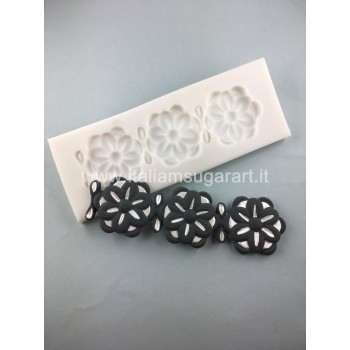 flowers lace mold