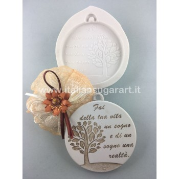 DIY wedding placeholders silicone mould