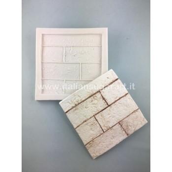 stampo mattonella cake design