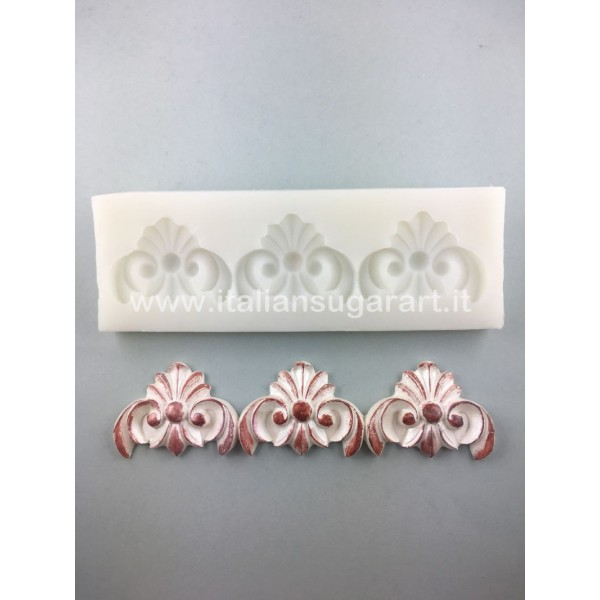 Lace mold for cakes decorations