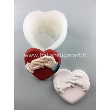 stampo silicone per polvere di ceramica