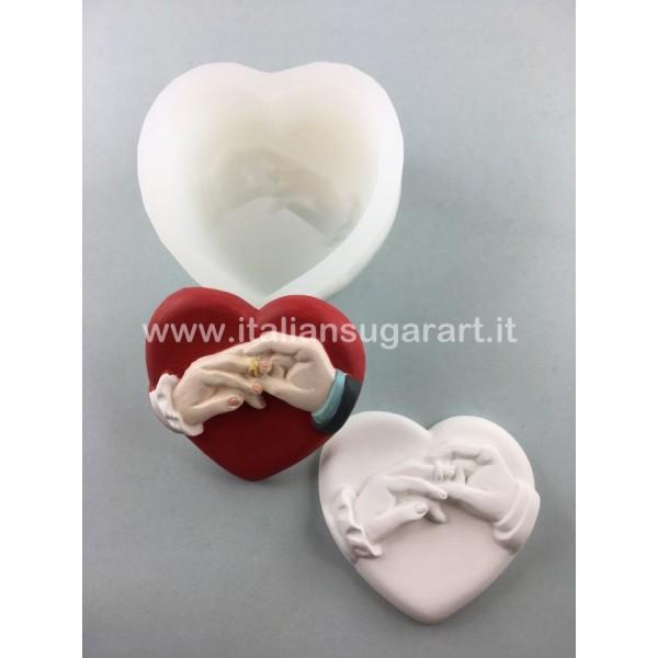 silicone mold for ceramic powder