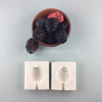 silicon blackberry mold