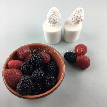 stampo frutti lampone e mora