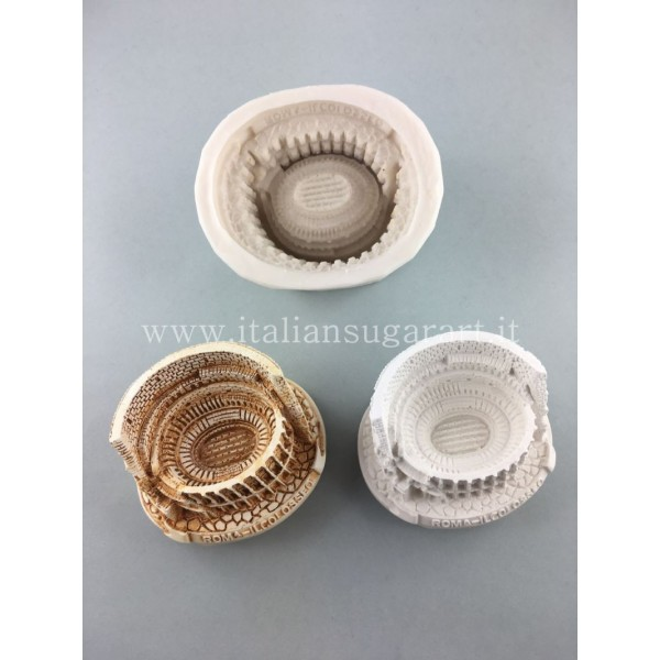 stampo silicone 3 d colosseo