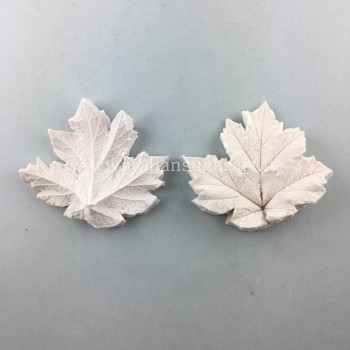 silicone mold extraction to veil leaves for cold porcelain
