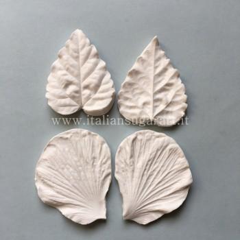 attrezzatura cake design fiori hybiscus sugarpaste