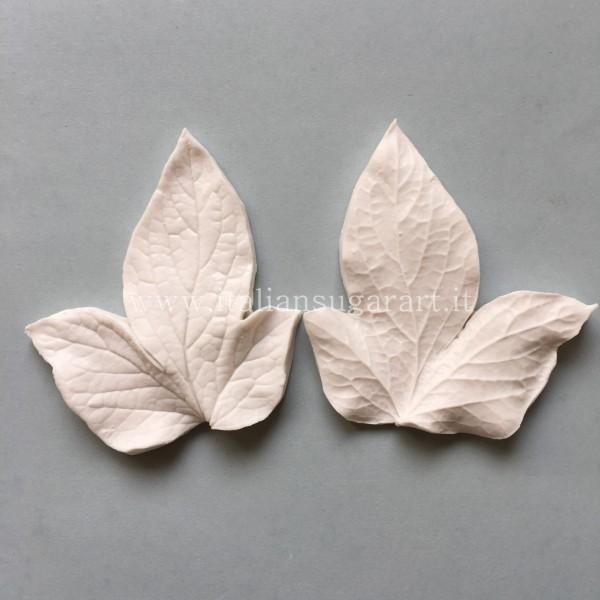 Triple leaf peony silicone veiner