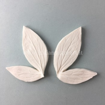 silicone mold Peony leaf Double edible pastes