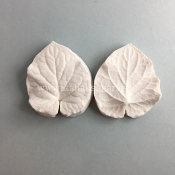 foglie realistiche in pasta di zucchero con venatori Violetta