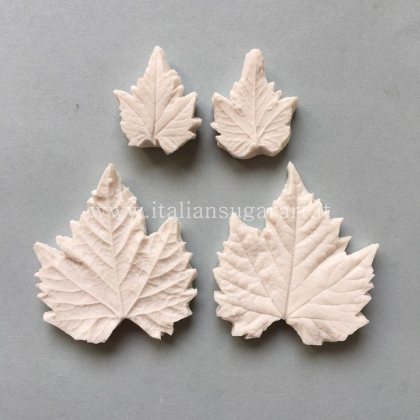 Two pieces veiner of the grape leaf