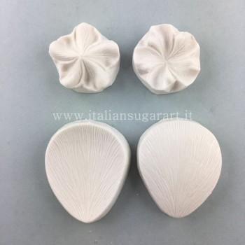 Venatori in silicone per creare dei fiori universali