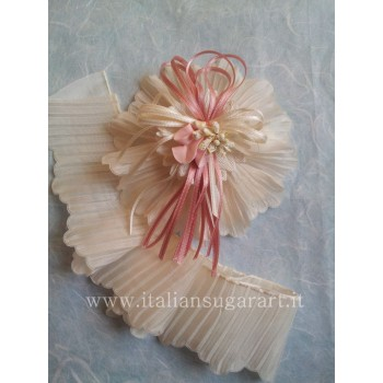 white tulle for DIY sugared almonds