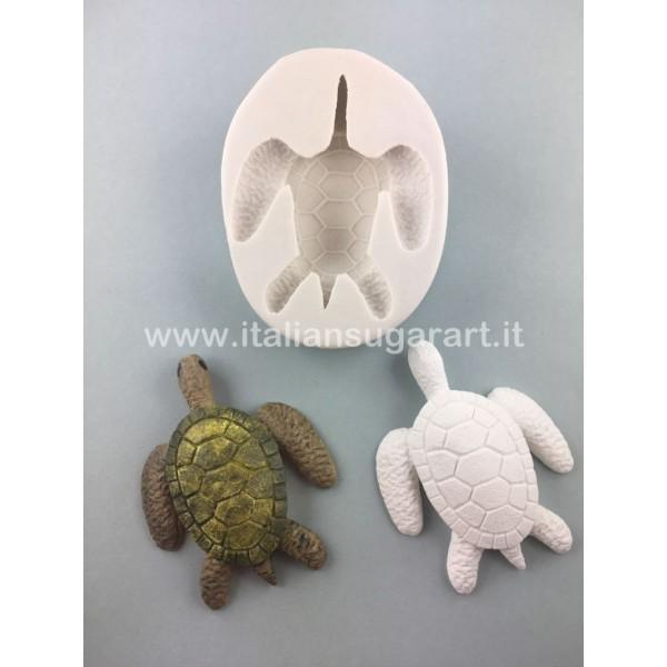 stampo in silicone tartaruga