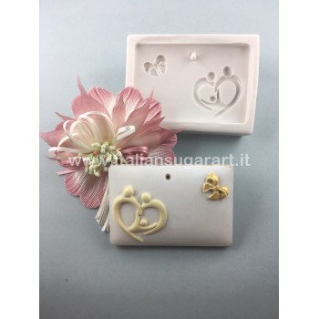 DIY newborn favors silicone mould