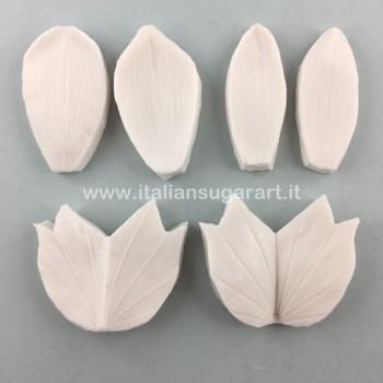 venatore in silicone fiore albero del tulipano