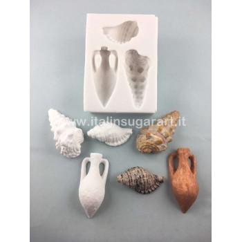 Shells Set 3 Mould