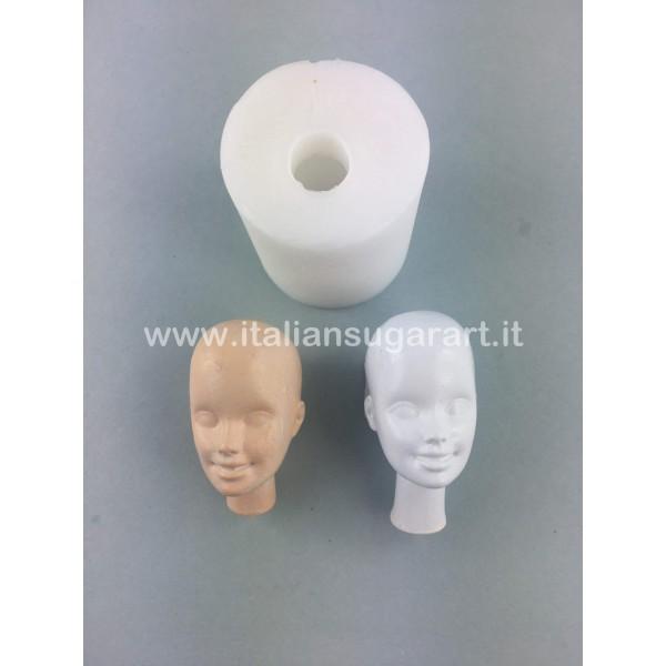 Woman's Face 3D Mould