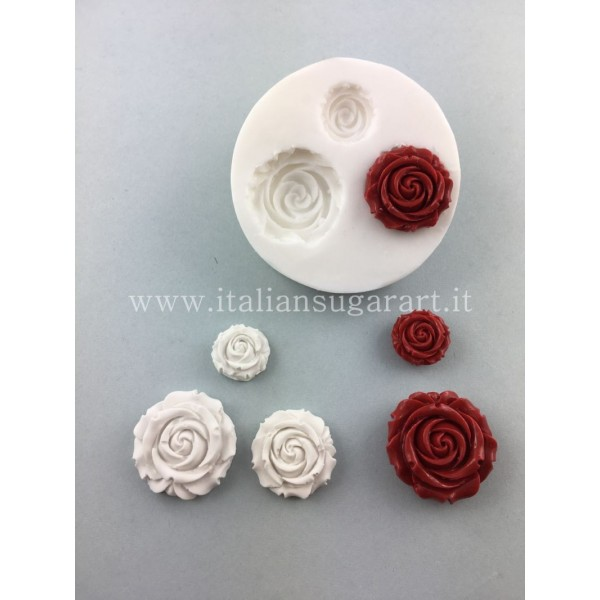 decorations for cakes in the shape of a rose