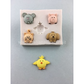 silicone cupcake animal mold