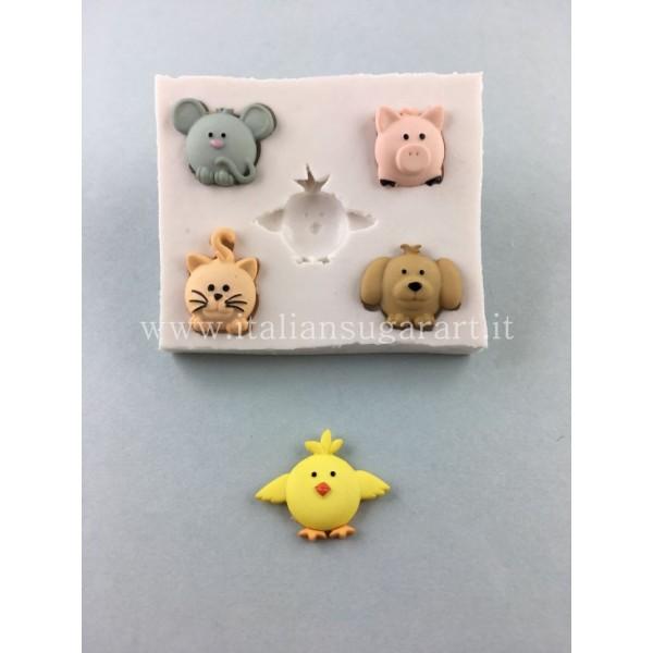 silicone cupcake animal mold