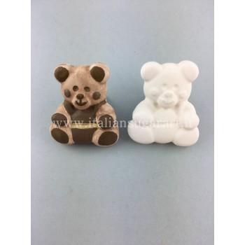 calco in silicone per orsetti  per bomboniere