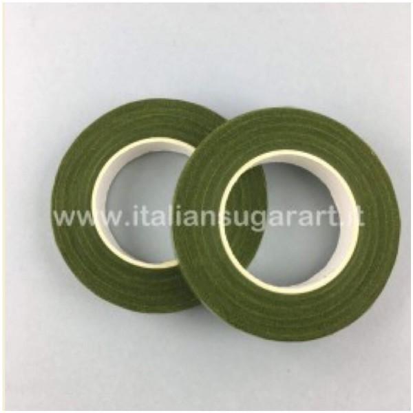 Guttaperca Verde Oliva - Nastro per rivestimento fiori di zucchero