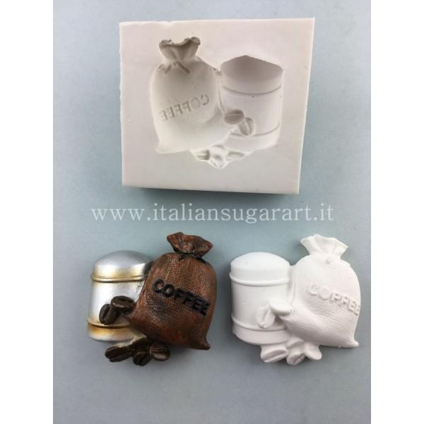 Stampo in silicone per Saccottino di  Caffè