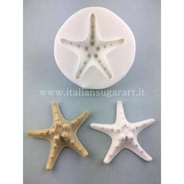 stampo in silicone stella marina