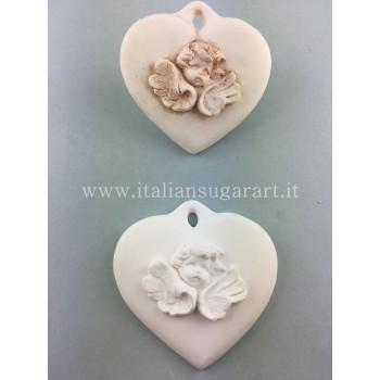 small angel heart mold