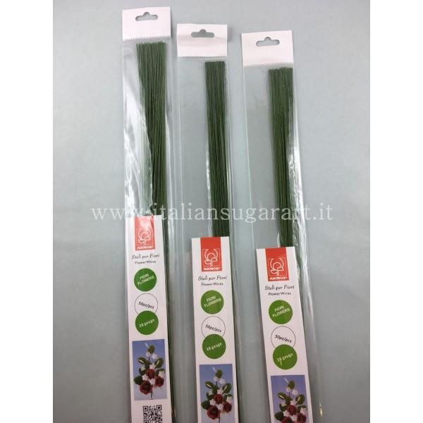 fili verde scuro