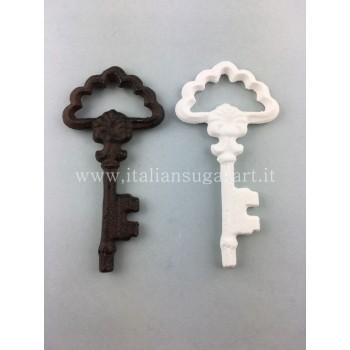 Antique key silicone mold