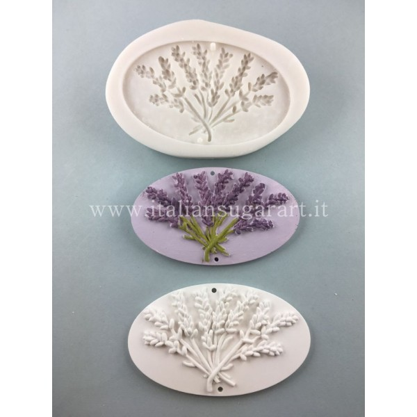 oval mold for cold porcelain