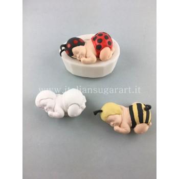 Stampo in silicone per neonato