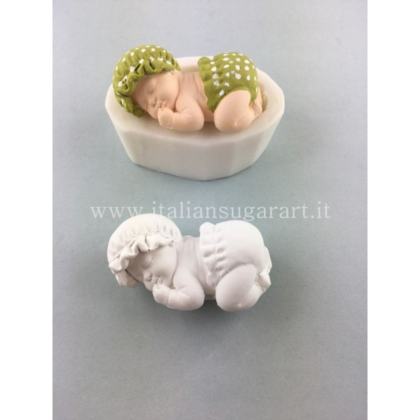 Silicone mold of baby