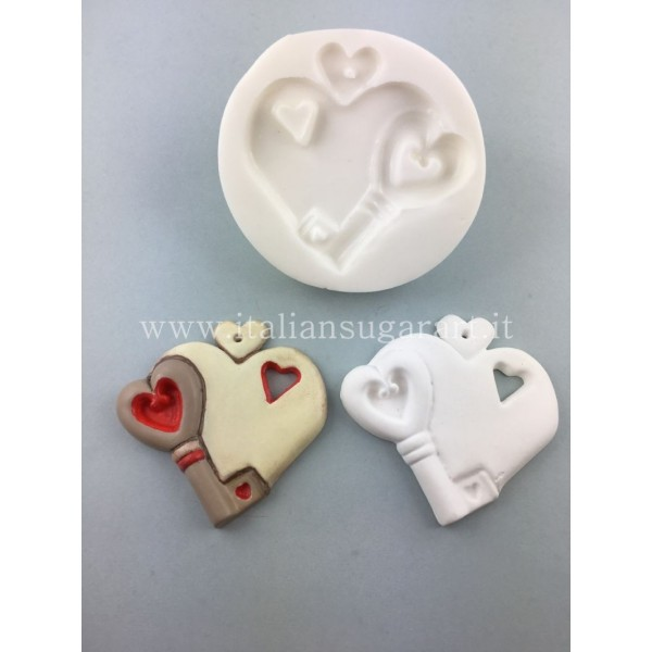 Love Key Mold