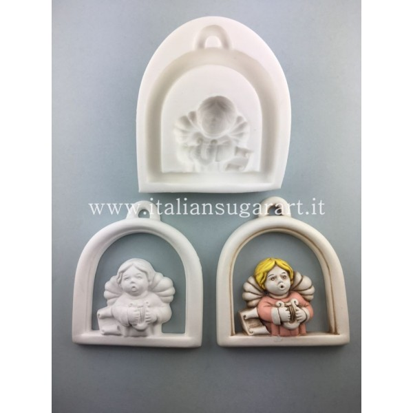 silicone angel tile