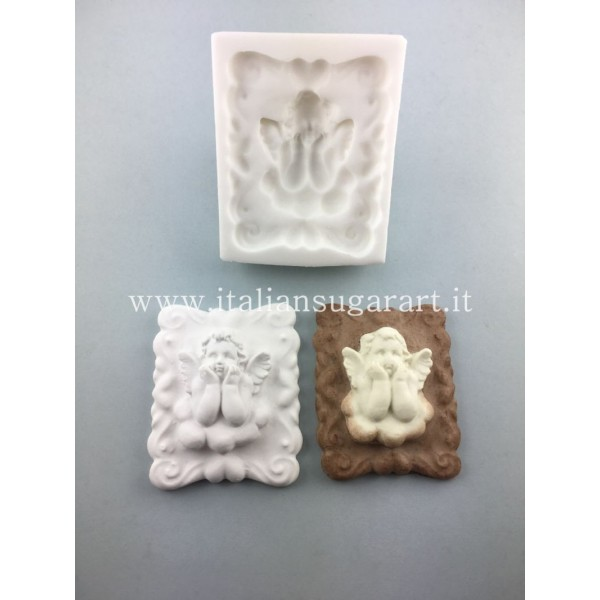 mold with angel