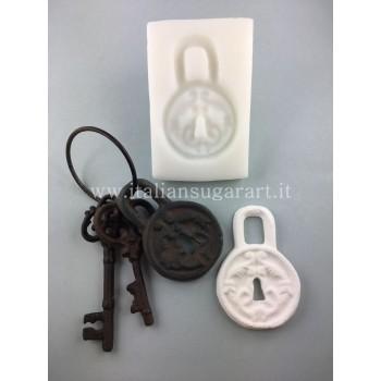 antique lock mold