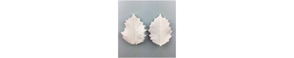 Veiners for leaves and particular flowers sugar paste,cold porcelain