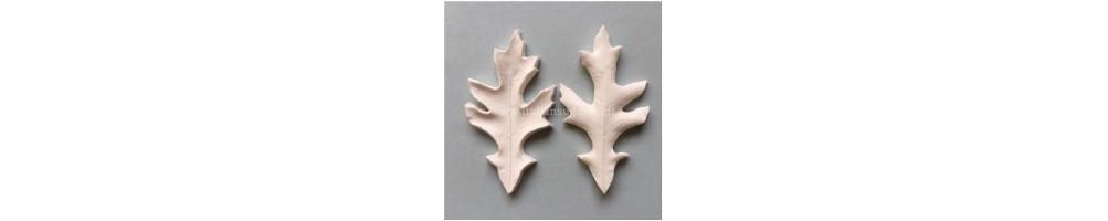 Venatori delle foglie del sottobosco - stampi in silicone foglie